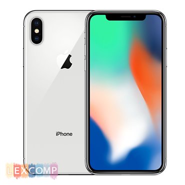 "iPhone X  64 Gb ""Серебристый"""