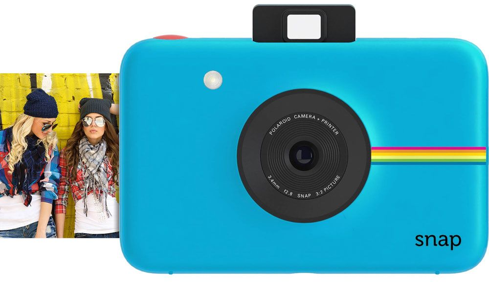 Фотоаппарат Polaroid Snap Touch Blue 13 Mp / no zoom / экран 3.5""
